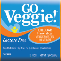 Lactose & Soy Free Cheddar Slices
