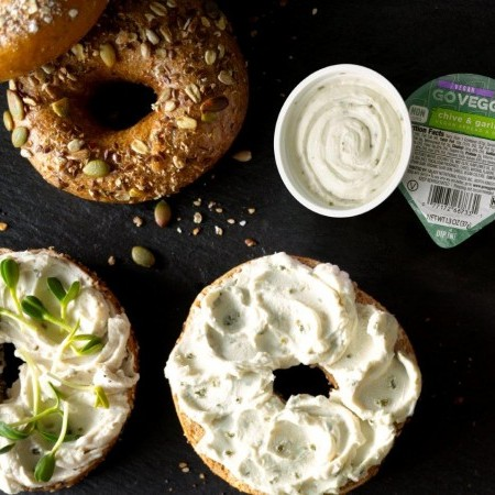 Better-for-You Bagel, Schmear and Sprouts