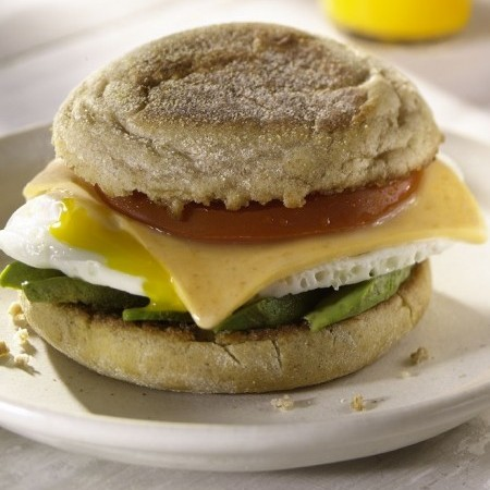 All-Day Egg Sandwich with a Kick