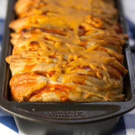 Buffalo Chicken Pull Apart Bread