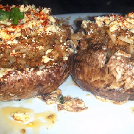 Stuffed Mushrooms (Vegan)