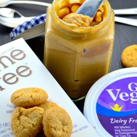 Vegan, Gluten Free Cookie Butter