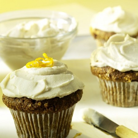 Lazy Sunday Carrot Cupcakes