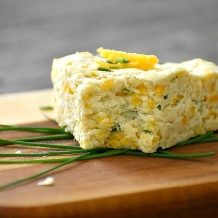 Gluten Free Cheese and Chive Scones