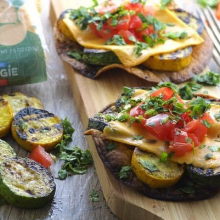 Grilled Vegetable Tostadas | GO VEGGIE®