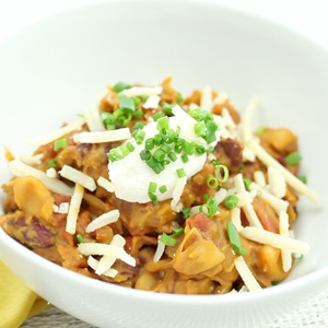 Blue Ribbon Cream Cheese Chili