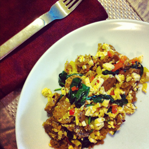 Vegan Breakfast Scramble